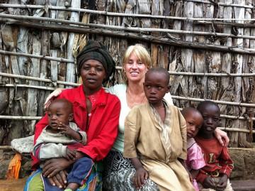 Assistant Professor Judy McLean in Rwanda