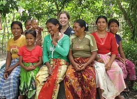 Rebecca Taves in Lombok, Indonesia