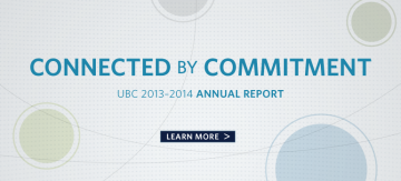Connected by Commitment: UBC 2013/14 Annual Report
