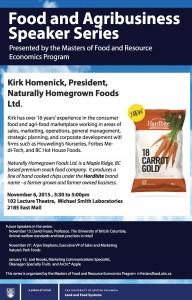 Food and Agribusiness Speaker Series